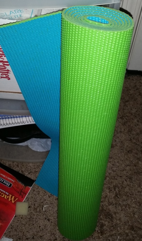 Demanding Yoga Mat is demanding